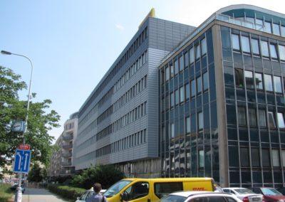 Office building in Na Pankráci